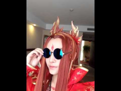 (COSPLAY) Coser Kenn Lord, Video toa sang ve dep
