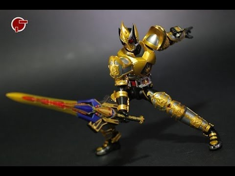 Toy Review: S.H. Figuarts Kamen Rider Blade King Form - YouTube