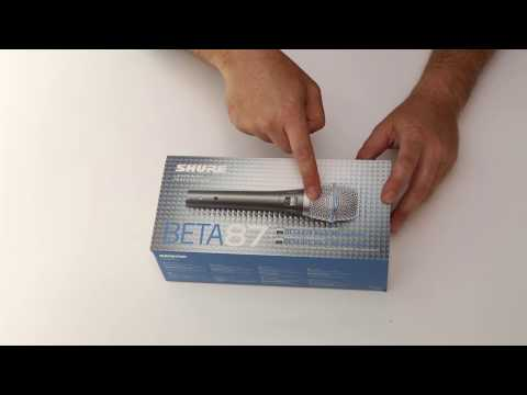 Unboxing Shure BETA87A