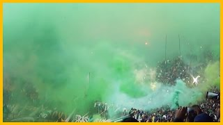Pyroshow Magana : Wydad Casablanca vs. Raja Casablanca - 30/11/2014