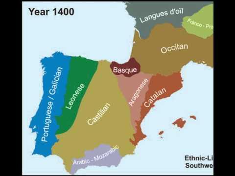 Spain Development. The origin of Iberian language groups. Modern Spain