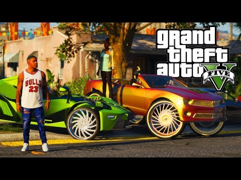 A Day With Denise! GTA 5 Real Hood Life 2 #157