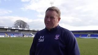 Steve Watson post-match interview (V Chester)