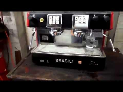 Brasilia 2 Group Electronic Espresso Machine Test and Use