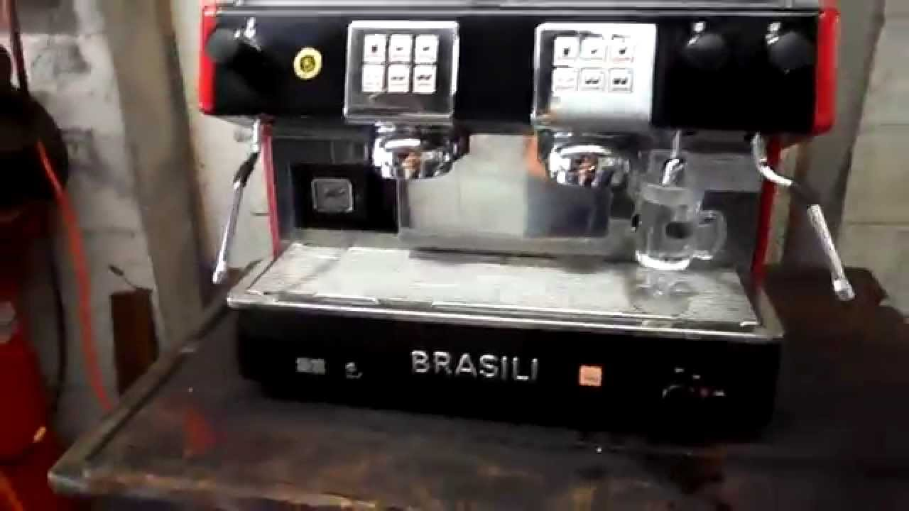 brasilia 2 group electronic espresso machine test and use. Black Bedroom Furniture Sets. Home Design Ideas