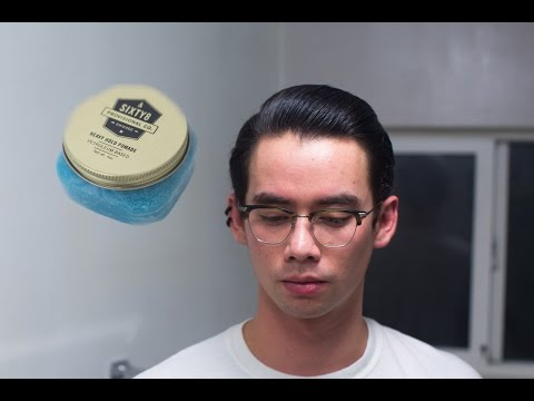 Sixty8 Provisional Co. Heavy Hold Pomade - Petroleum-Based (Wax) - Lightness with Strength