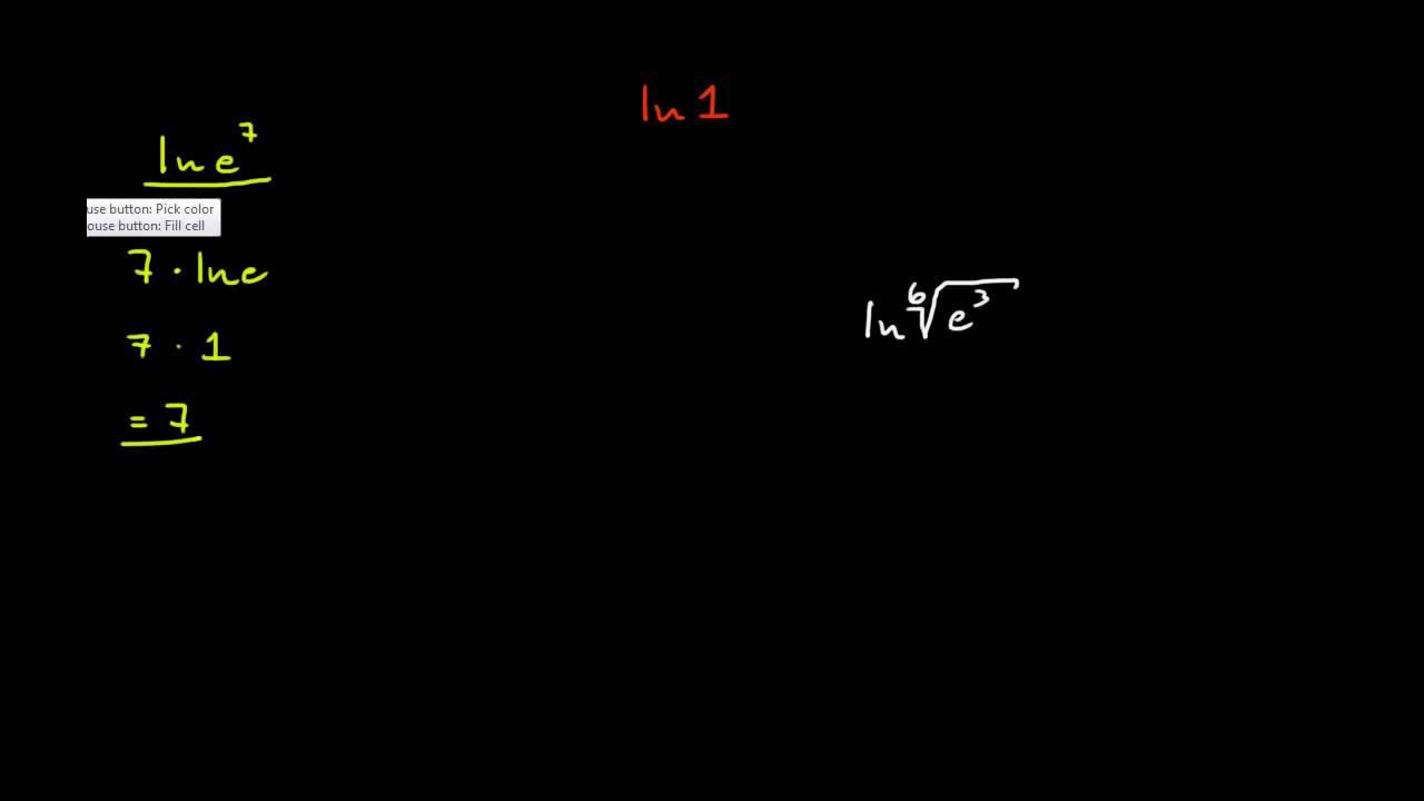 2.5 - Litt småregning med den naturlige logaritmen (R1)
