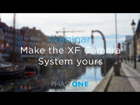 Education | Make the XF Camera System yours | Phase One