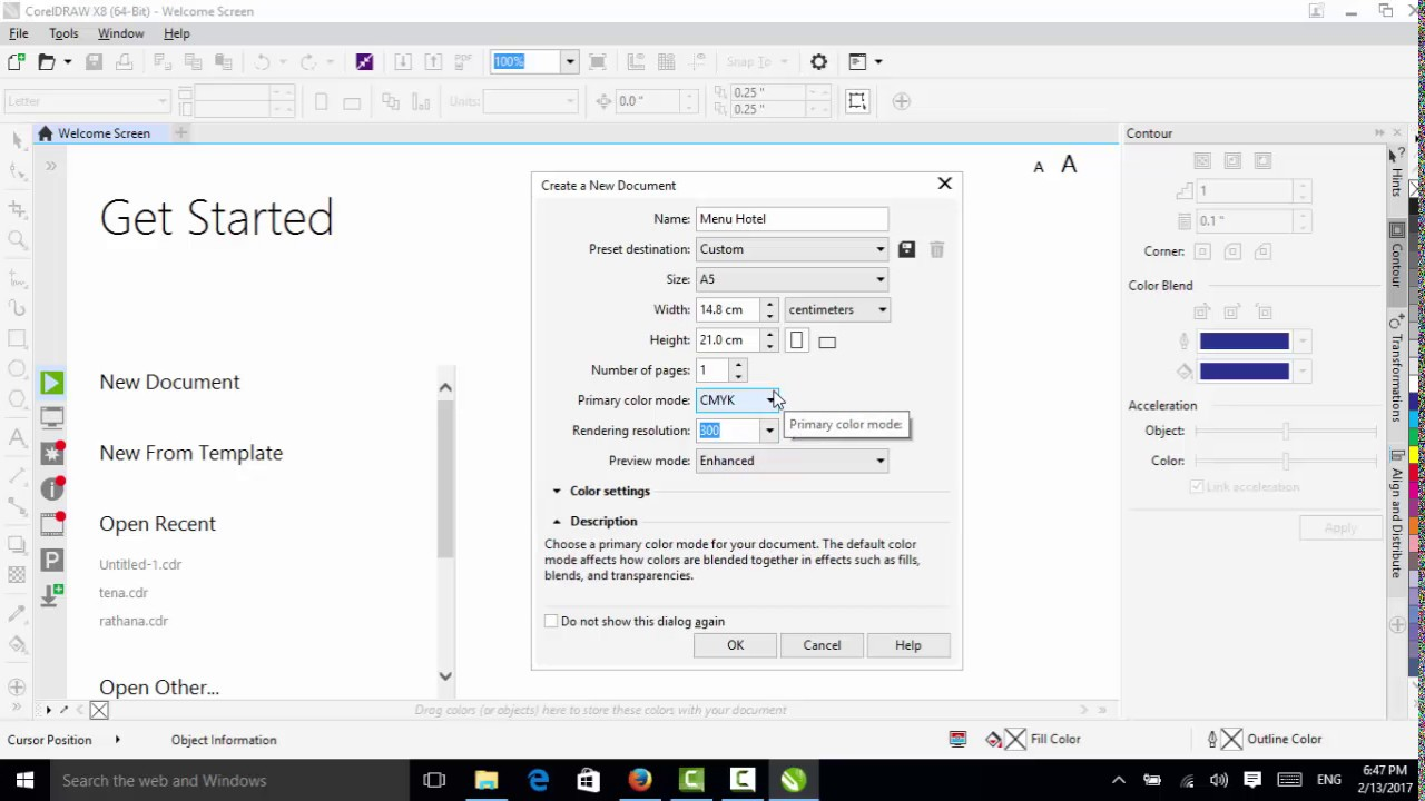 Corel draw viewer online - How To Create New Open Save Save As In Coreldraw X8 Khmer
