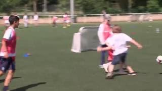 Football : journée PSG à Montigny-le-Bretonneux