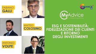 Sostenibilità, la consulenza tra fidelizzazione dei clienti e ritorno degli investimenti