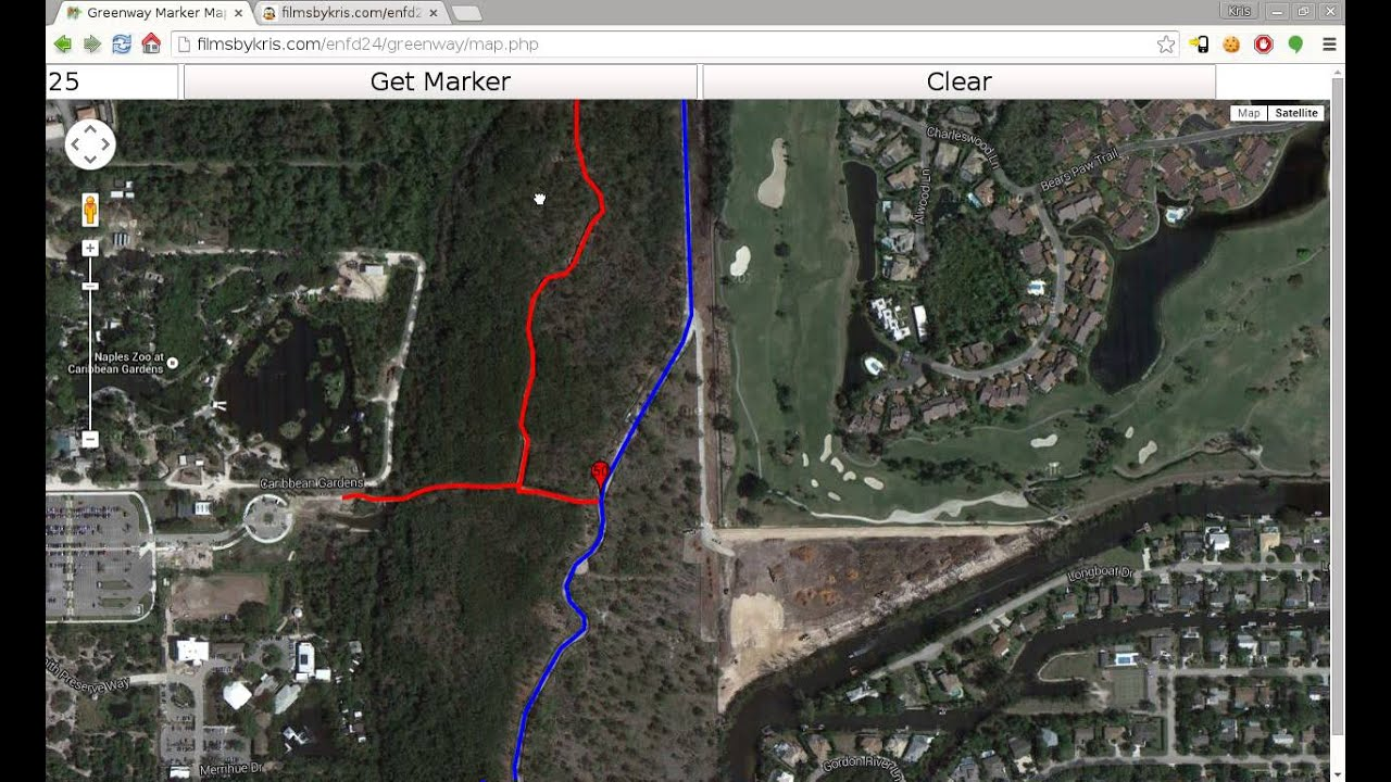 Map Of Naples Florida.Greenway Mark Map Naples Fl Overview Youtube