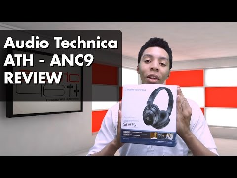 Audio Technica's ANC9 Noise Canceling Headphone Review