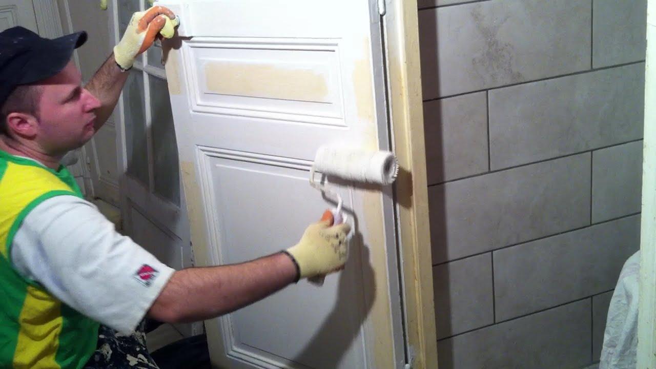 Rnover une porte en bois du0027une porte pour abri de for Peindre une porte en bois