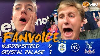 Zaha returns to get Crystal Palace the win! | Huddersfield 0-1 Crystal Palace | 90min FanVoice