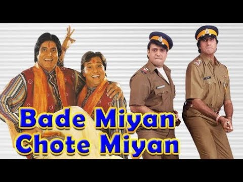 Kitna Nacha Raha Hai Be Dialogue From Bade Miyan Chote Miyan