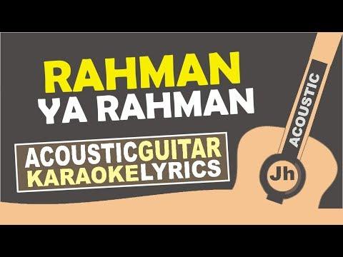 Nisa Sabyan Rohman Ya Rohman Instrumental Karaoke