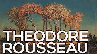 Theodore Rousseau: A collection of 118 paintings (HD)
