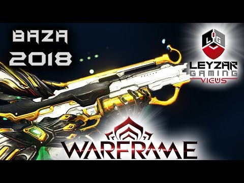 Baza Build 2018 (Guide) - The Silent Assault Rifle (Warframe Gameplay)