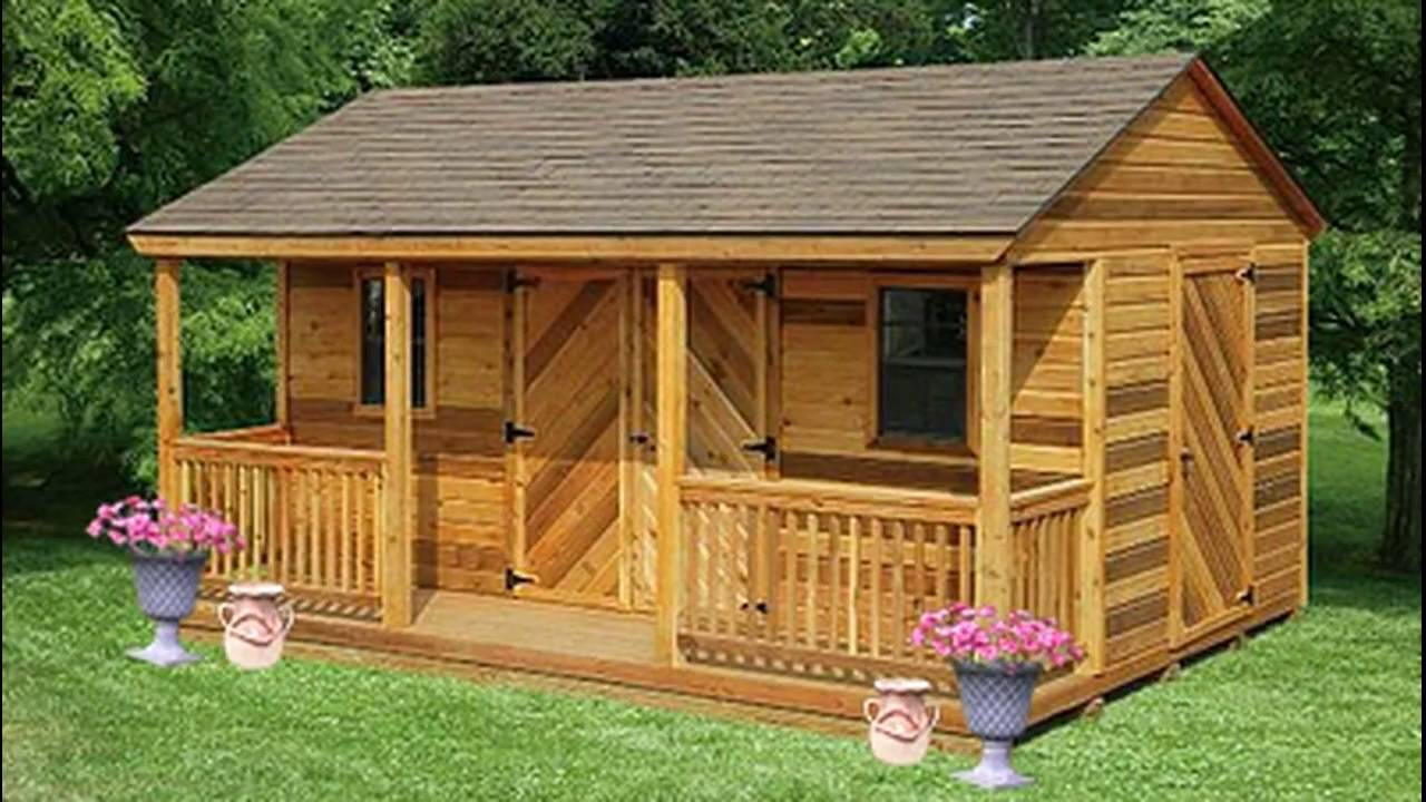 Backyard Storage Sheds Pennsylvania | Amish Outdoor ...