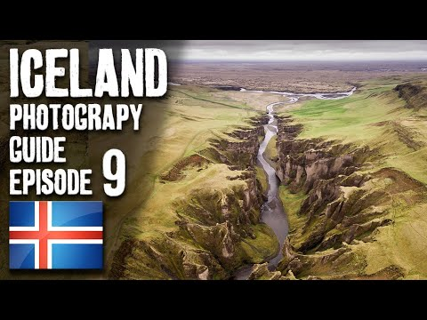 Landscape Photography in Iceland - Episode 9 - Fjadrargljufur, DRONE photography!