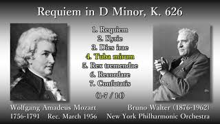 Mozart/Süssmayr: Requiem, Walter & NYP (1956) モーツァルト レクイエム ワルター