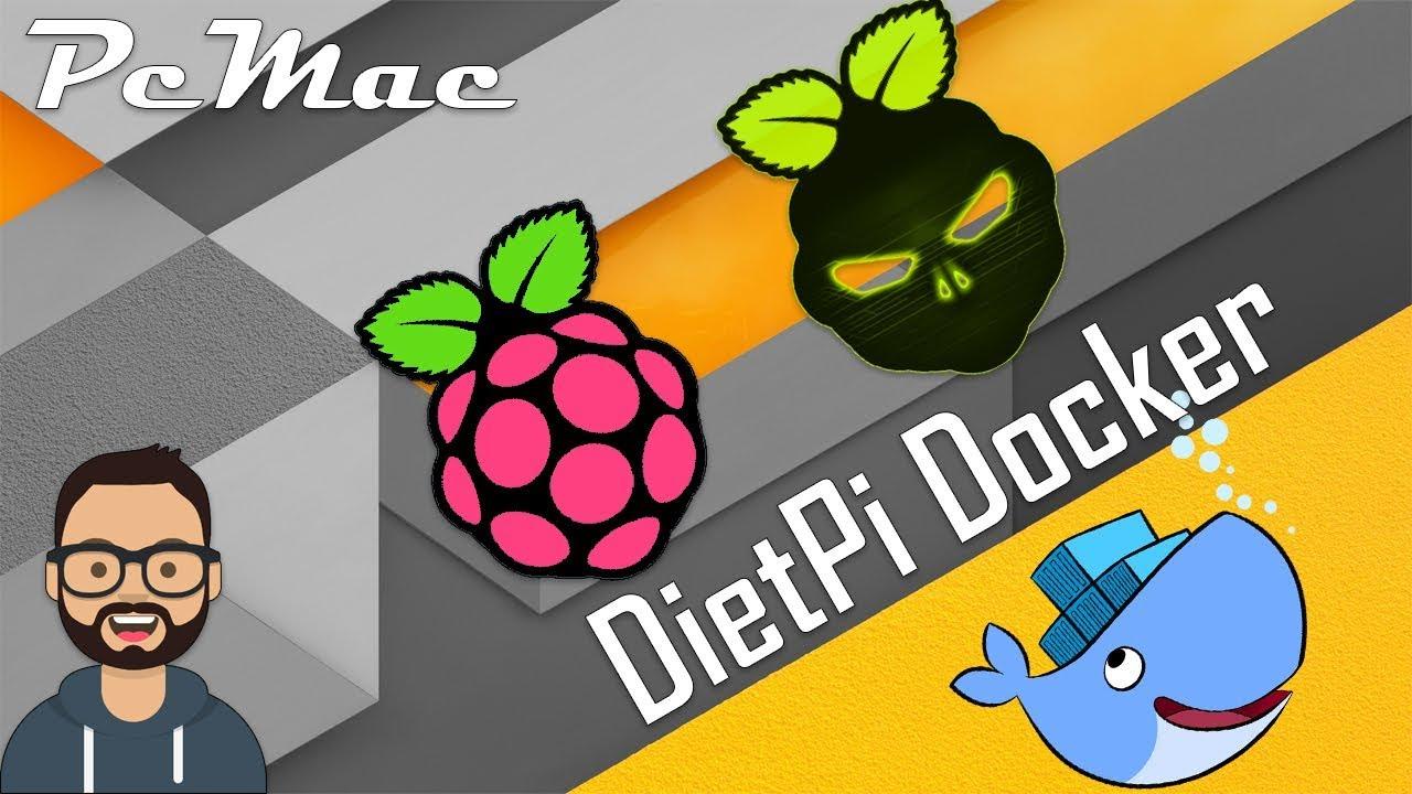 DietPi Docker Setup on Raspberry Pi 3 B Plus