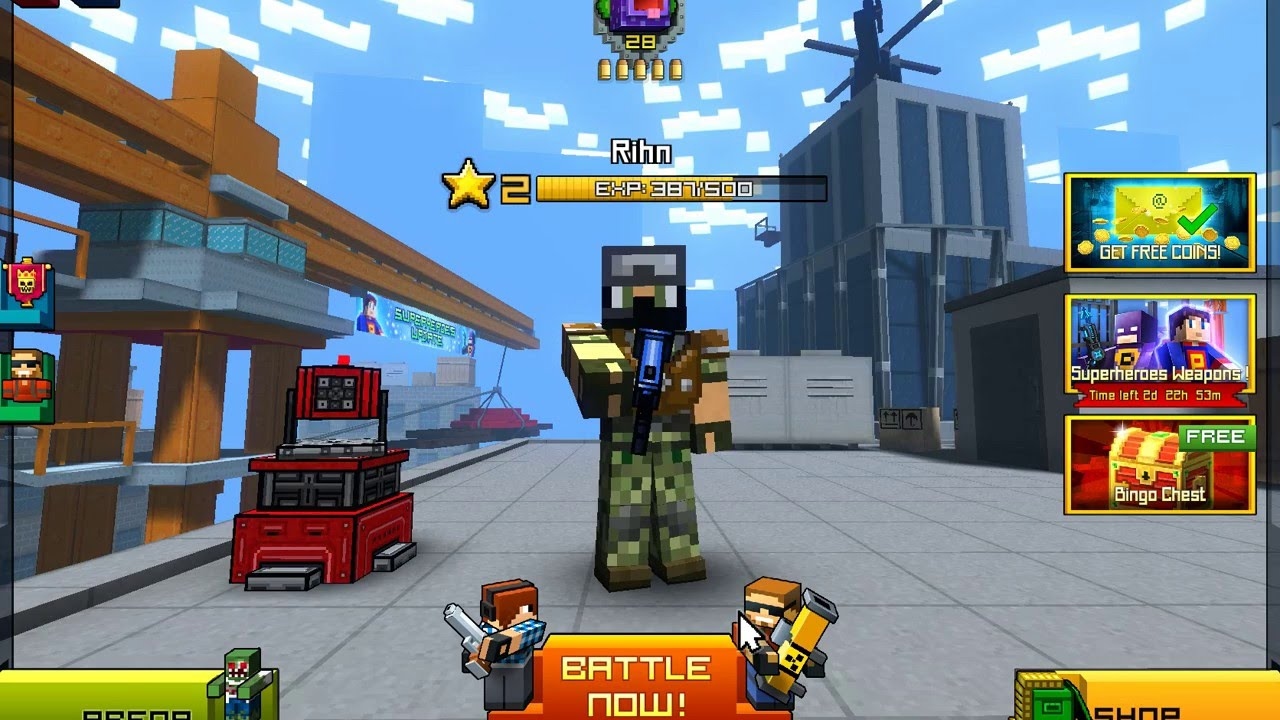 Pixel gun 3d – download and install on android.