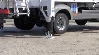 Articulated truck-mounted platform ZED 26 JH