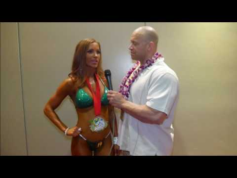 NPC Pacific Island Championships | Anna Sparks First Place Bikini A