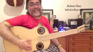 The secret of a powerful flamenco performance is rhythm (Learn strummings) Skype lessons Ruben Diaz