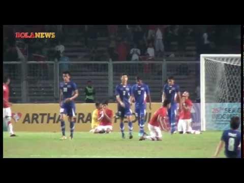 Cuplikan Indonesia vs Thailand Sepak Bola SEA Games XXVI ...