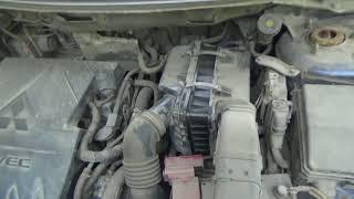 Замена воздушного фильтра двигателя на Mitsubishi Lancer седан X 1.5
