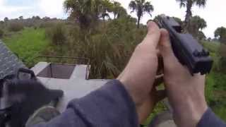 Wild Boar Hunt with Kahr P45 Pistol with Ron's Guide Service