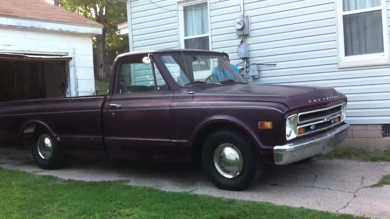 68 Chevy C10 Long Bed - YouTube