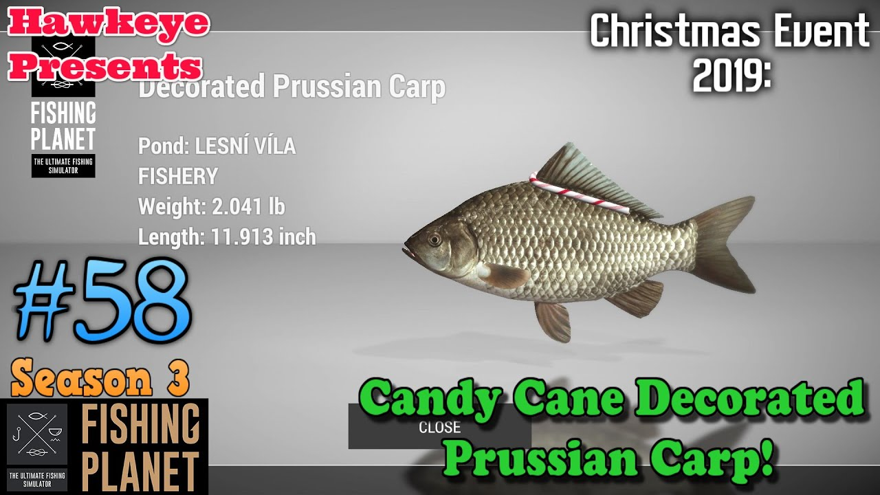 Fishing Planet Christmas Event 2020 Fishing Pla| #58   S3 | Christmas Event 2019: Candy Cane