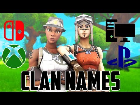 100+ Clan Names & Gamertags (Not Used)