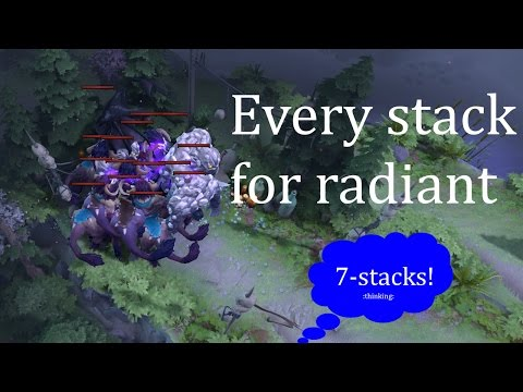 Dota 2 Radiant Stacking Guide - Timings, best practices, pulling [7.06]