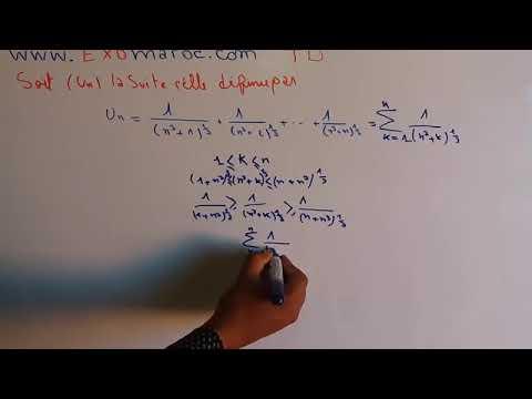 Analyse 1 Les Suites  3A  Exercice Corrig C3 A9  28TD 29 Partie 23 1  28 Darija  29