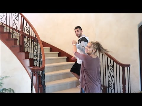GIRLFRIEND'S REACTION TO OUR NEW HOUSE!