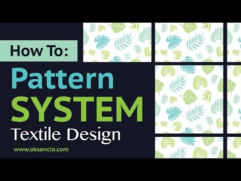 How To Create Custom Template System For Vector Repeat Patterns in Adobe Illustrator CC