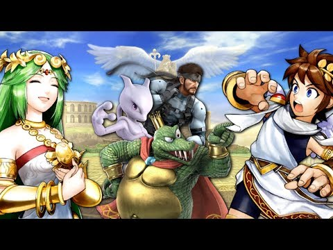 Super Smash Bros. Ultimate - All NEW Palutena's Guidance Conversations