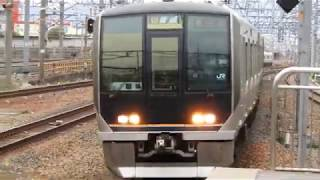 321系 [普通]新三田行き 千里丘駅到着