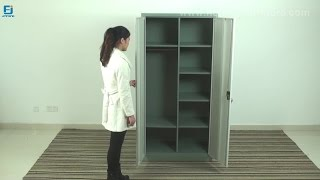 How to Install Steel Wardrobe Cabinet