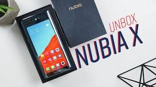 Mở hộp Nubia X: 2 cảm biến vân tay, 2 màn hình, 0 camera selfie