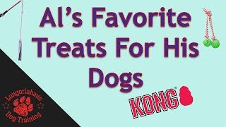 Al's Favorite Dog Treats - Tips From Al The Dog Trainer