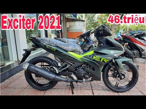Exciter 2021 Màu Xanh Rêu Đẹp Hơn Exciter 155vva | Exciter 155vva Chạy Thử Tại Hà Nội | Sáu Vlogs