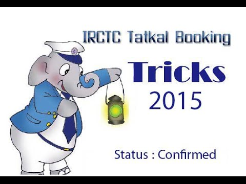 Book Tatkal tickets in less than 60 Seconds | Revealed: In this video, we will learn about how to book Tatkal tickets in less than 60 Seconds from IRCTC Official Website for Indian Railways.  TATKAL Ticket Features:  1.Ticket booking under Tatkal scheme opens at 10 am on the previous day of journey from train originating station (i.e one day before) 2.10AM is booking start time for AC seat and 11AM is start time for SLEEPER seat. 3. Confirmed tatkal tickets can be cancelled but no refunds will be provided. But waitlisted tatkal tickets can be cancelled with refunds.  Links :  IRCTC Official Website : https://www.irctc.co.in/eticketing/loginHome.jsf  Tatkal Rules : http://www.indianrail.gov.in/tatkal_Scheme.html