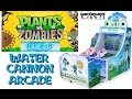 PLANTS VS. ZOMBIES: ICEMAN! Water Cannon Arcade Shooter Game!