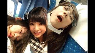 "【HKT48】""寝顔""をメンバーがこっそり撮った写真・画像まとめ 【お宝コ..."